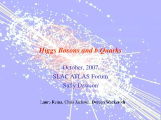 Higgs Bosons and b Quarks