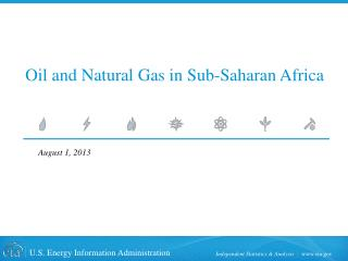 Oil and Natural Gas in Sub-Saharan Africa