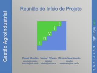 Reuni�o de In�cio de Projeto