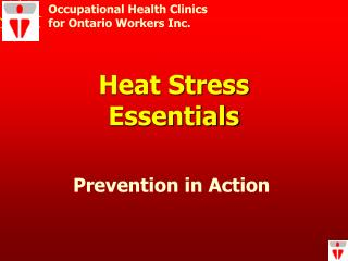 Heat Stress Essentials