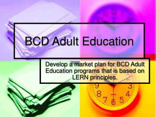 BCD Adult Education