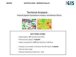 Territorial Analysis: Potential Spatial Development Impacts and Network Effects