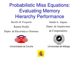 Probabilistic Miss Equations: Evaluating Memory Hierarchy Performance