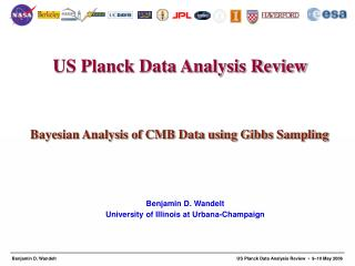 Bayesian Analysis of CMB Data using Gibbs Sampling