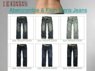 Enjoy shopping your Abercrombie & Fitch Mens Jeans