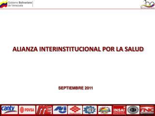 ALIANZA INTERINSTITUCIONAL POR LA SALUD