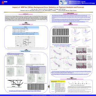 Impact of  WRFVar (3DVar) Background Error Statistics on Typhoon Analysis and Forecast