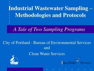 Industrial Wastewater Sampling – Methodologies and Protocols