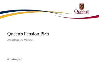 Queen�s Pension Plan
