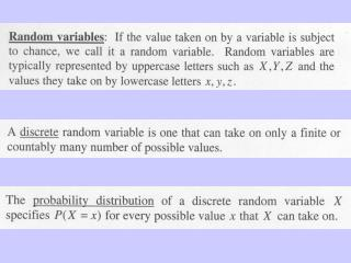 Binomial and Poisson Distribution