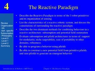 The Reactive Paradigm