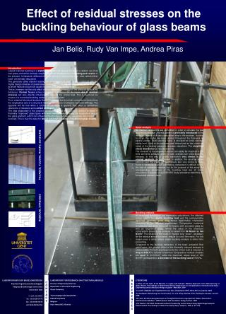 Effect of residual stresses on the buckling behaviour of glass beams