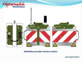 MobiRake portable wireless station