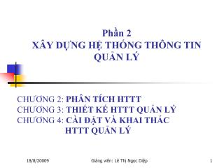 Ph?n 2 X�Y D?NG H? TH?NG TH�NG TIN  QU?N L�
