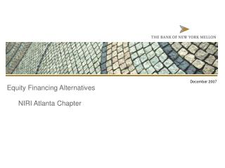 Equity Financing Alternatives NIRI Atlanta Chapter