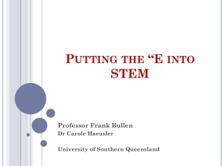 Mathematical skills of students entering Engineering and Science studies at USQ