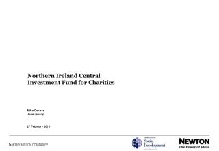 Northern Ireland Central Investment Fund for Charities