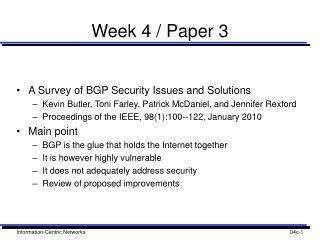 Week 4 / Paper 3