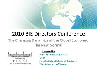 2010 BIE Directors Conference