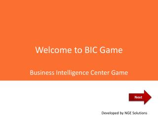 Welcome to BIC Game