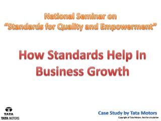 How Standards Help In Business Growth