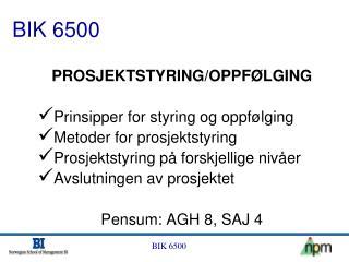 BIK 6500