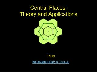 Central Places: Theory and Applications