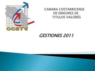 GESTIONES 2011