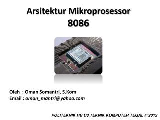 Arsitektur Mikroprosessor 8086