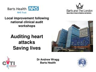 Local improvement following national clinical audit workshops Auditing heart attacks Saving lives