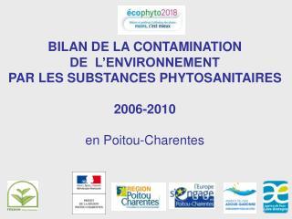 VENTES DE PHYTOSANITAIRES EN POITOU-CHARENTES  Donn�es 2010