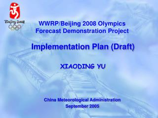 China Meteorological Administration September 2005