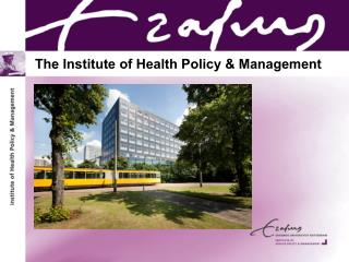 The Institute of Health Policy & Management