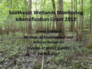 Southeast Wetlands Monitoring Intensification Grant 2012