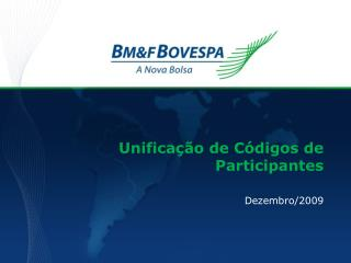 Unificação de Códigos de Participantes