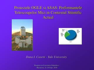 Proiectele OGLE si ASAS: Performantele Telescoapelor Mici in Contextul Stiintific Actual
