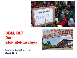 Lingkaran Survei Indonesia Maret  2012