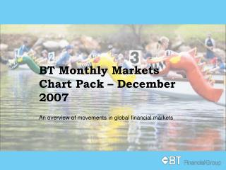 BT Monthly Markets Chart Pack – December 2007
