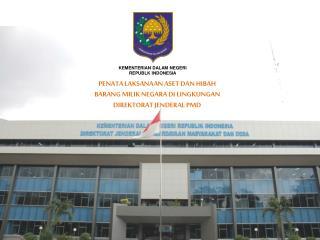 KEMENTERIAN DALAM NEGERI REPUBLK INDONESIA