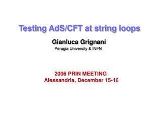Testing AdS/CFT at string loops
