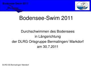 Bodensee-Swim 2011