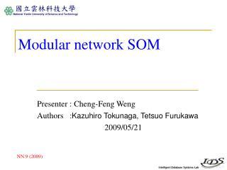 Modular network SOM