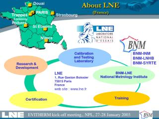 About LNE  (France)
