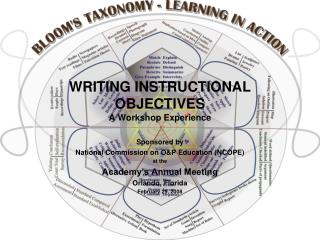WRITING INSTRUCTIONAL OBJECTIVES A Workshop Experience