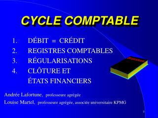CYCLE COMPTABLE