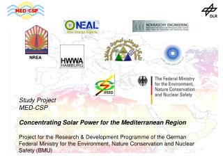 Study Project  MED-CSP Concentrating Solar Power for the Mediterranean Region