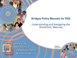 Bridges Policy Manuals for RSS