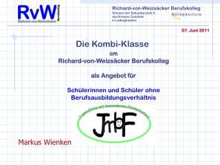 Richard-von-Weizs�cker Berufskolleg Schulen der Sekundarstufe II