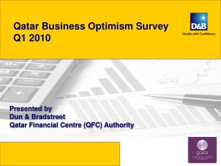 Qatar Business Optimism Survey   Q1 2010