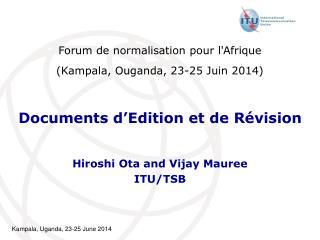 Documents d�Edition et de R�vision